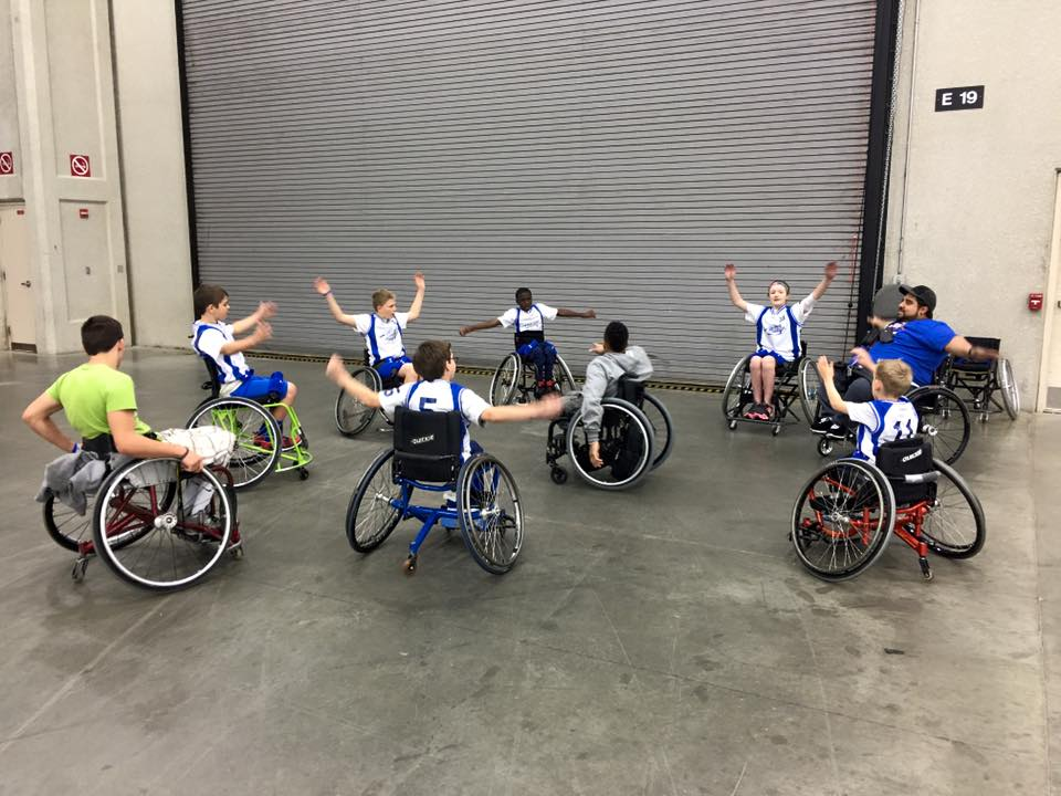 Oklahoma Adaptive Sports Association - Wheelchair Basketball